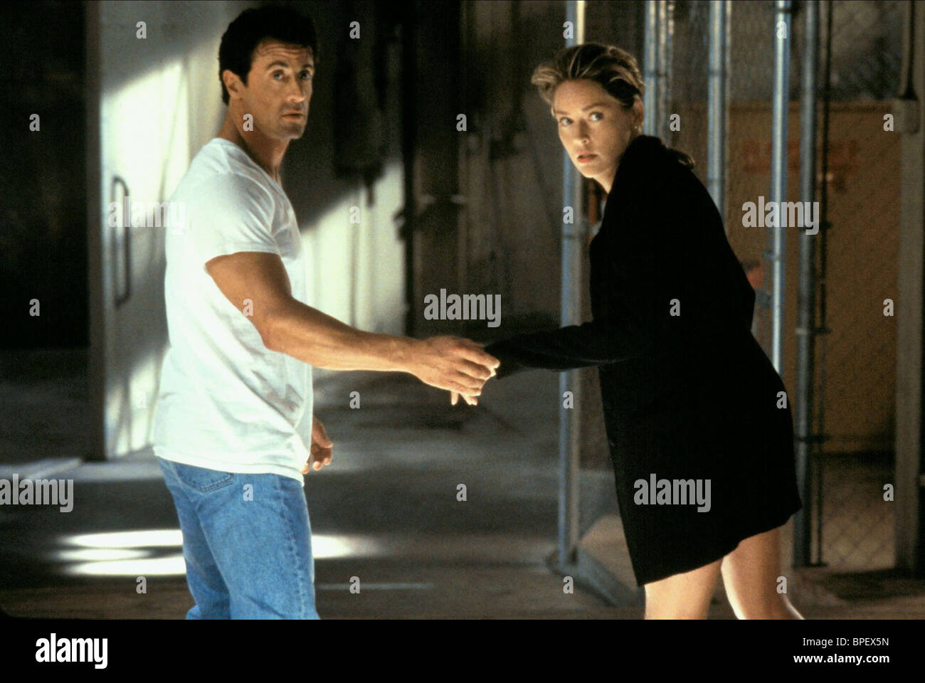Sylvester Stallone Sharon Stone The Specialist 1994 Stock Photo Alamy