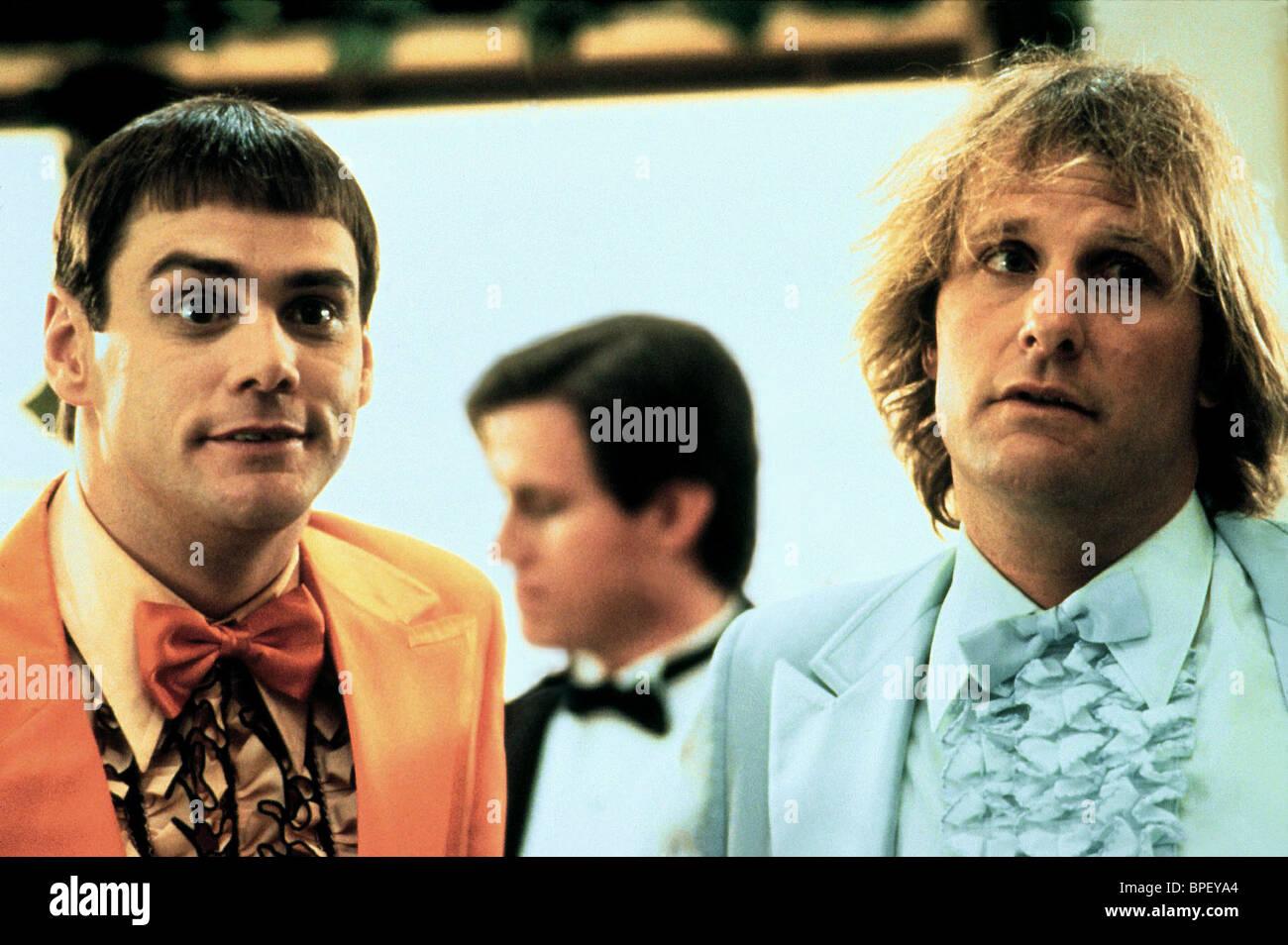 JIM CARREY, JEFF DANIELS, DUMB and DUMBER, 1994 Stock Photo