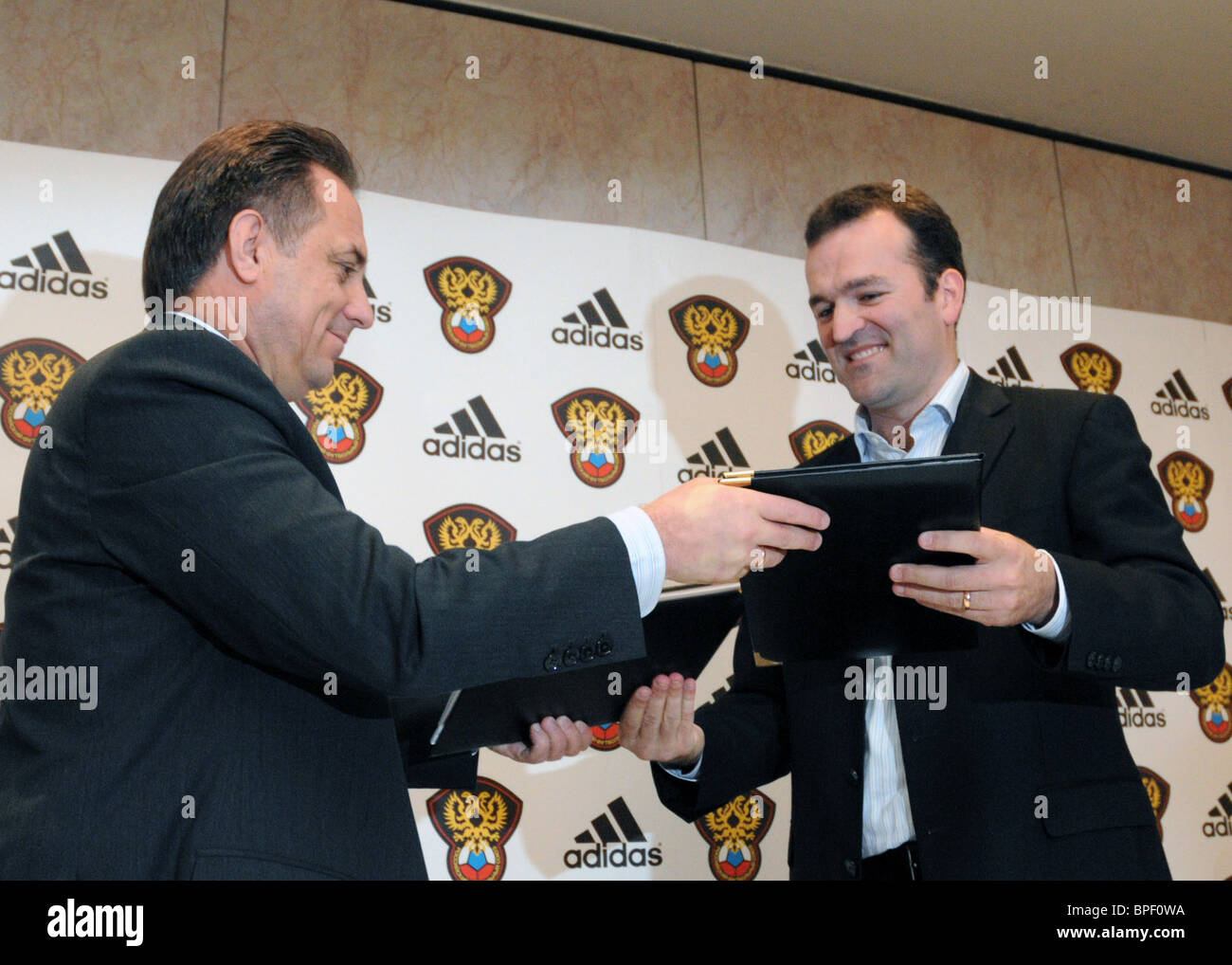 Adidas Ltd and Russian Football Union sign partnership