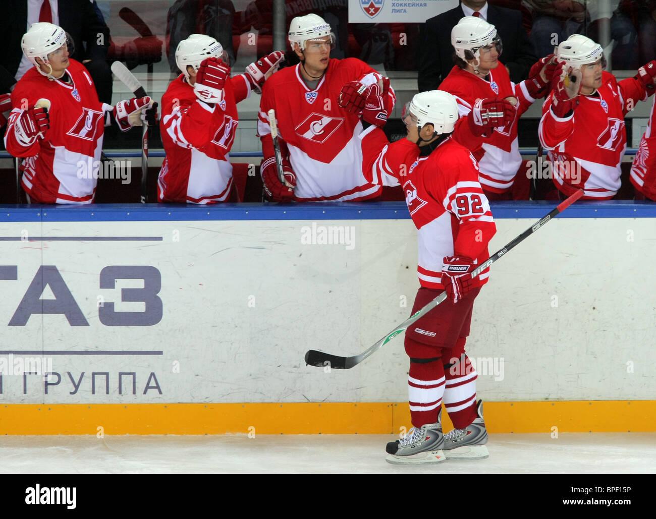 f5411d76f77 Cska Moscow 2 1 Spartak Moscow Stock Photos   Cska Moscow 2 1 ...