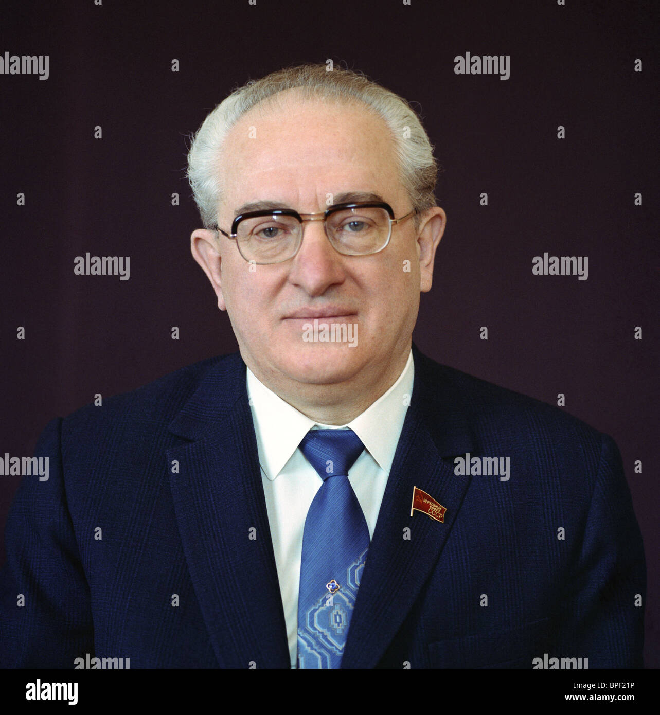 General Secretary of the CPSU Yuri Andropov, 1983 - Stock Image