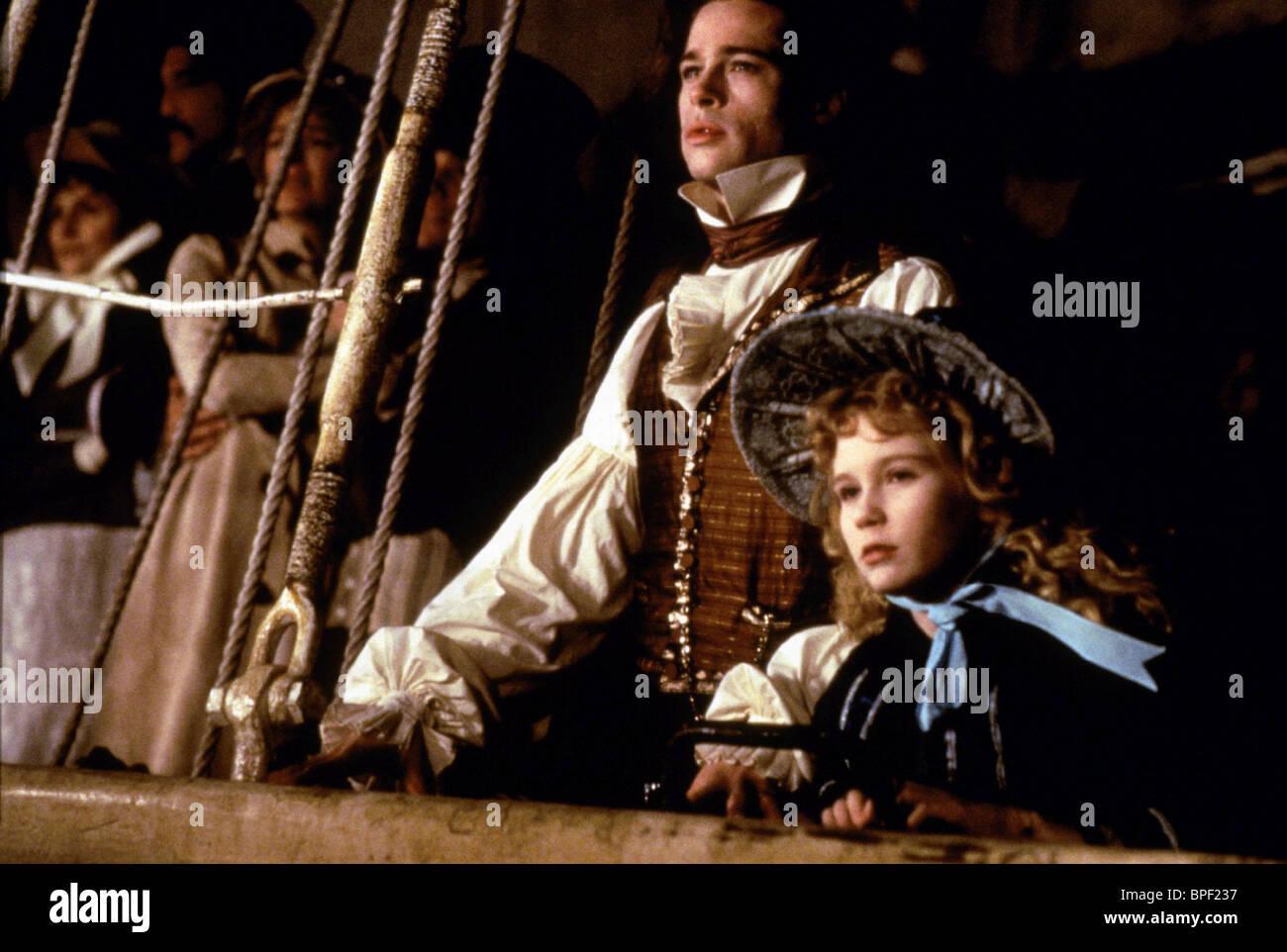 Brad Pitt Kirsten Dunst Interview With The Vampire The Vampire Stock Photo Alamy