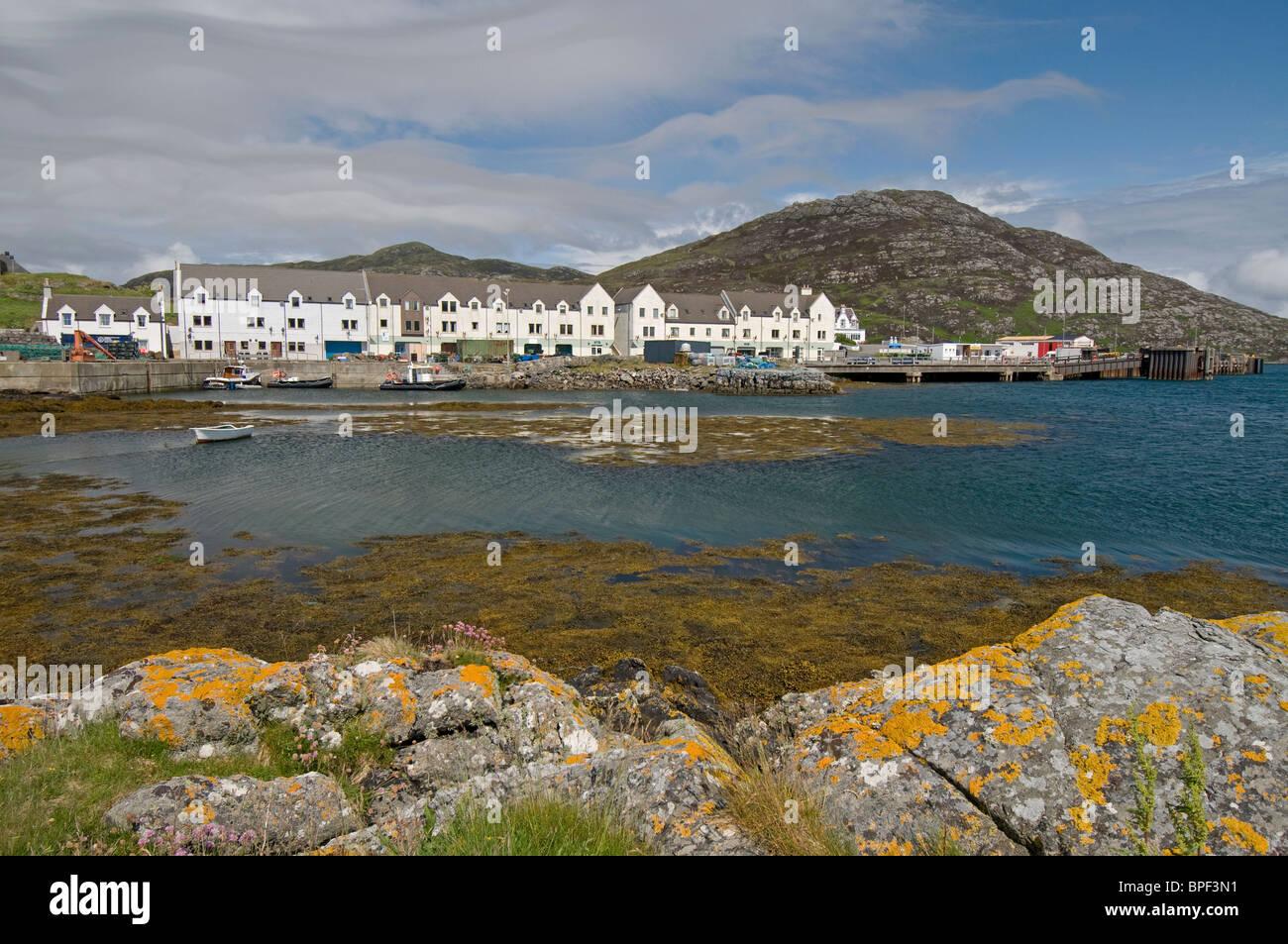 Lochboisdale ferry terminal Port, South Uist Outer Hebrides, Scotland.  SCO 6427 - Stock Image
