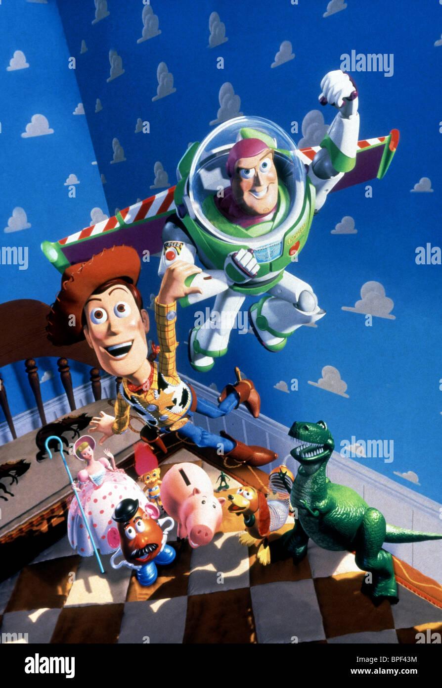 Bo Peep Mr Potato Head Hamm Slinky Rex Woody Buzz Lightyear Toy
