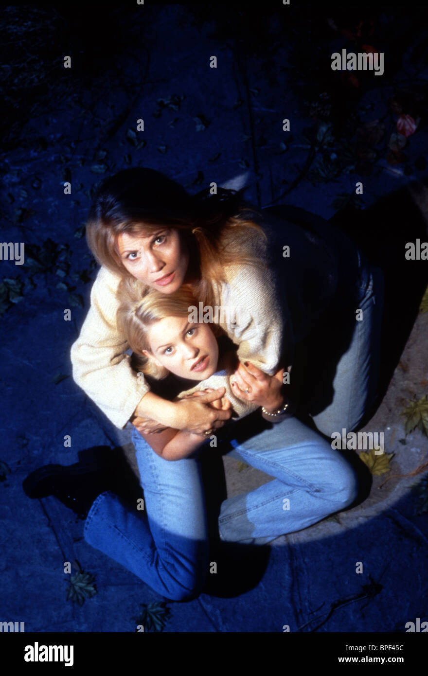 CANDACE CAMERON, MARKIE POST, VISITORS OF THE NIGHT, 1995 - Stock Image