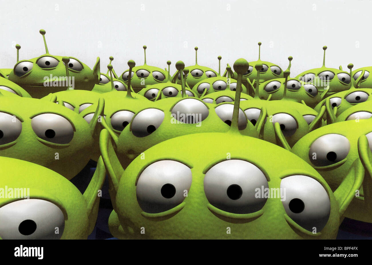 ALIENS TOY STORY (1995) - Stock Image