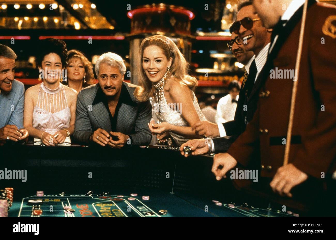 SHARON STONE CASINO (1995) - Stock Image