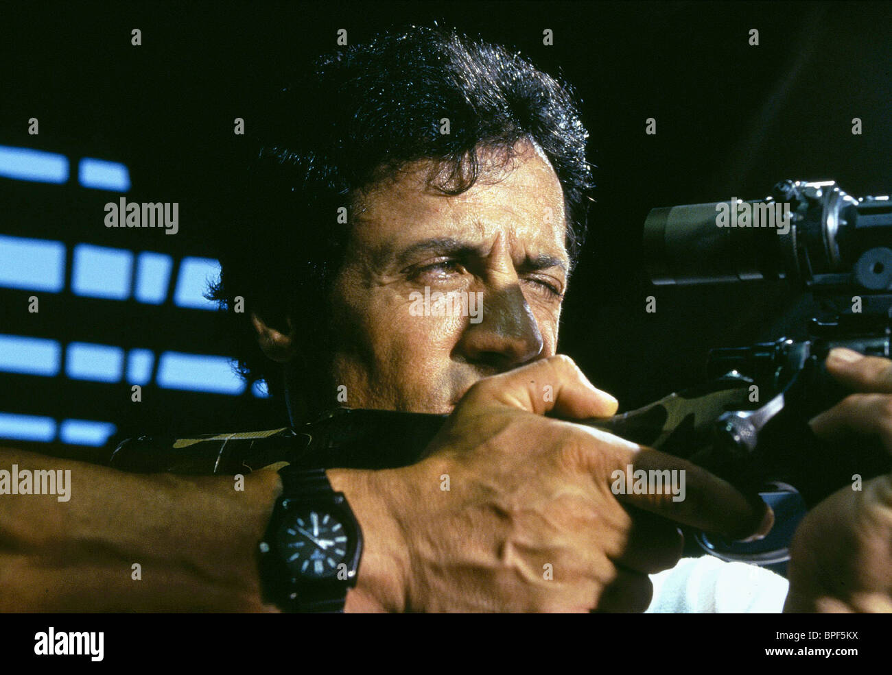 SYLVESTER STALLONE ASSASSINS (1995) - Stock Image