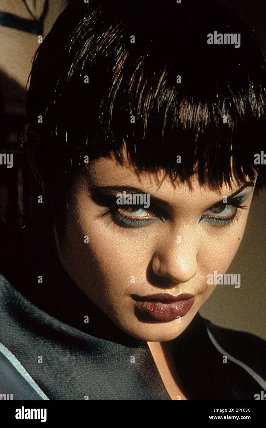 ANGELINA JOLIE HACKERS (1995) - Stock Image