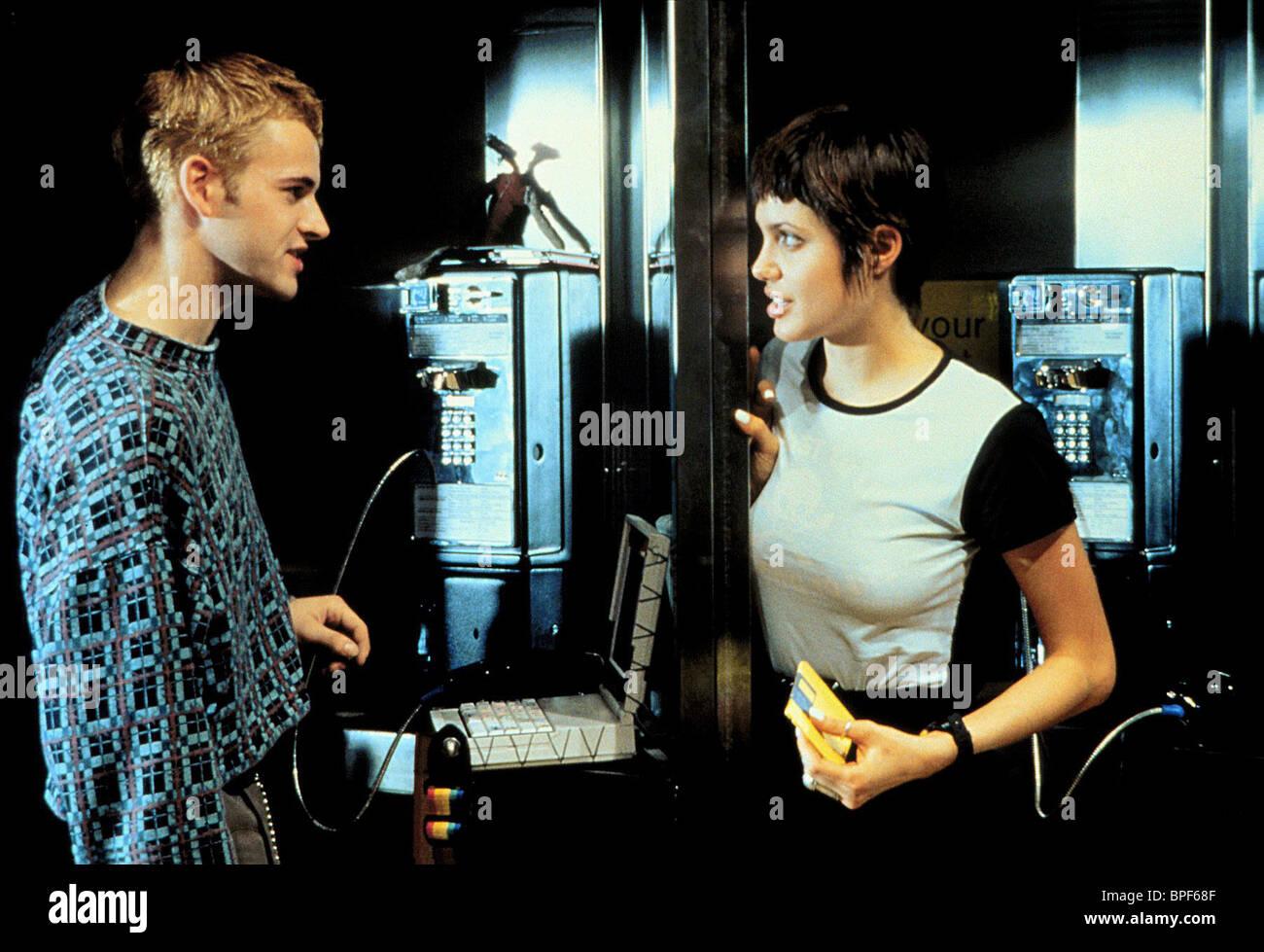JONNY LEE MILLER & ANGELINA JOLIE HACKERS (1995 Stock ...