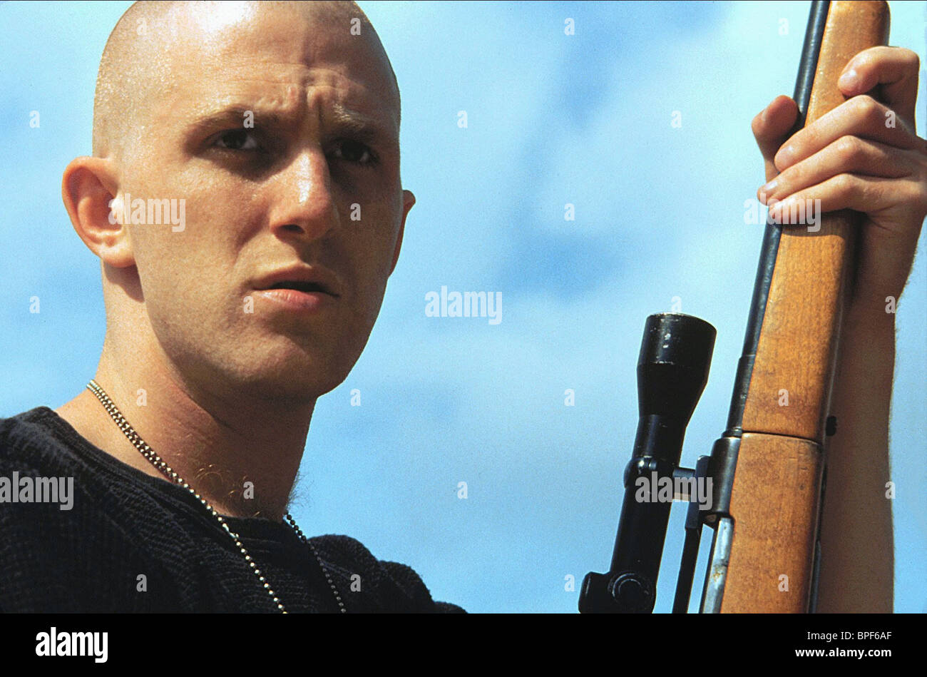 MICHAEL RAPAPORT HIGHER LEARNING (1995) Stock Photo