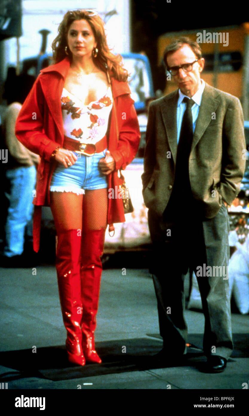 MIRA SORVINO, WOODY ALLEN, MIGHTY APHRODITE, 1995 - Stock Image