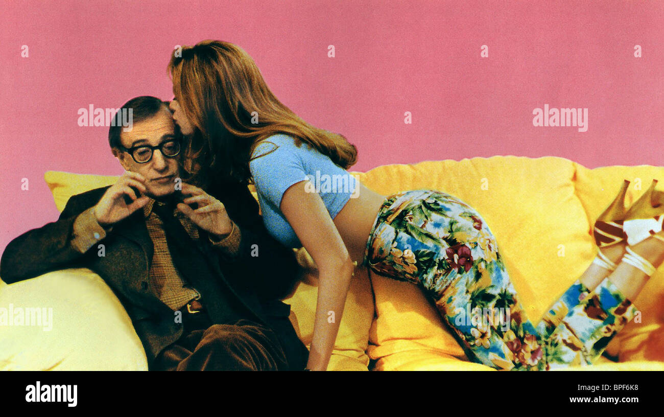 WOODY ALLEN, MIRA SORVINO, MIGHTY APHRODITE, 1995 - Stock Image