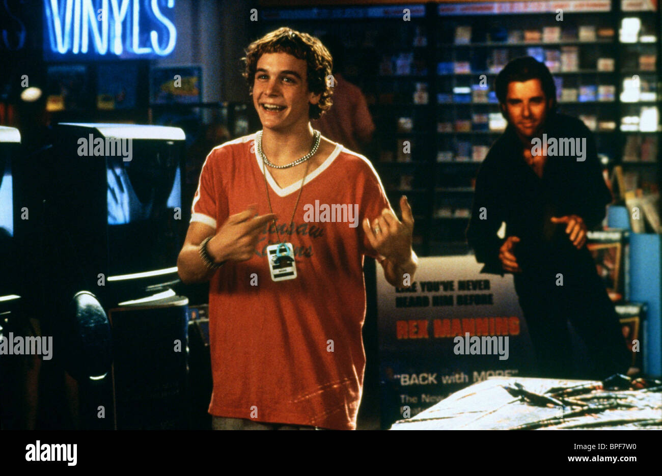 ETHAN EMBRY EMPIRE RECORDS (1995) - Stock Image