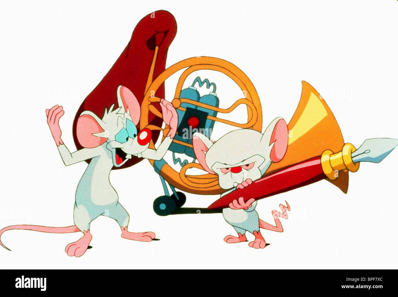 PINKY & THE BRAIN PINKY AND THE BRAIN (1995) - Stock Image