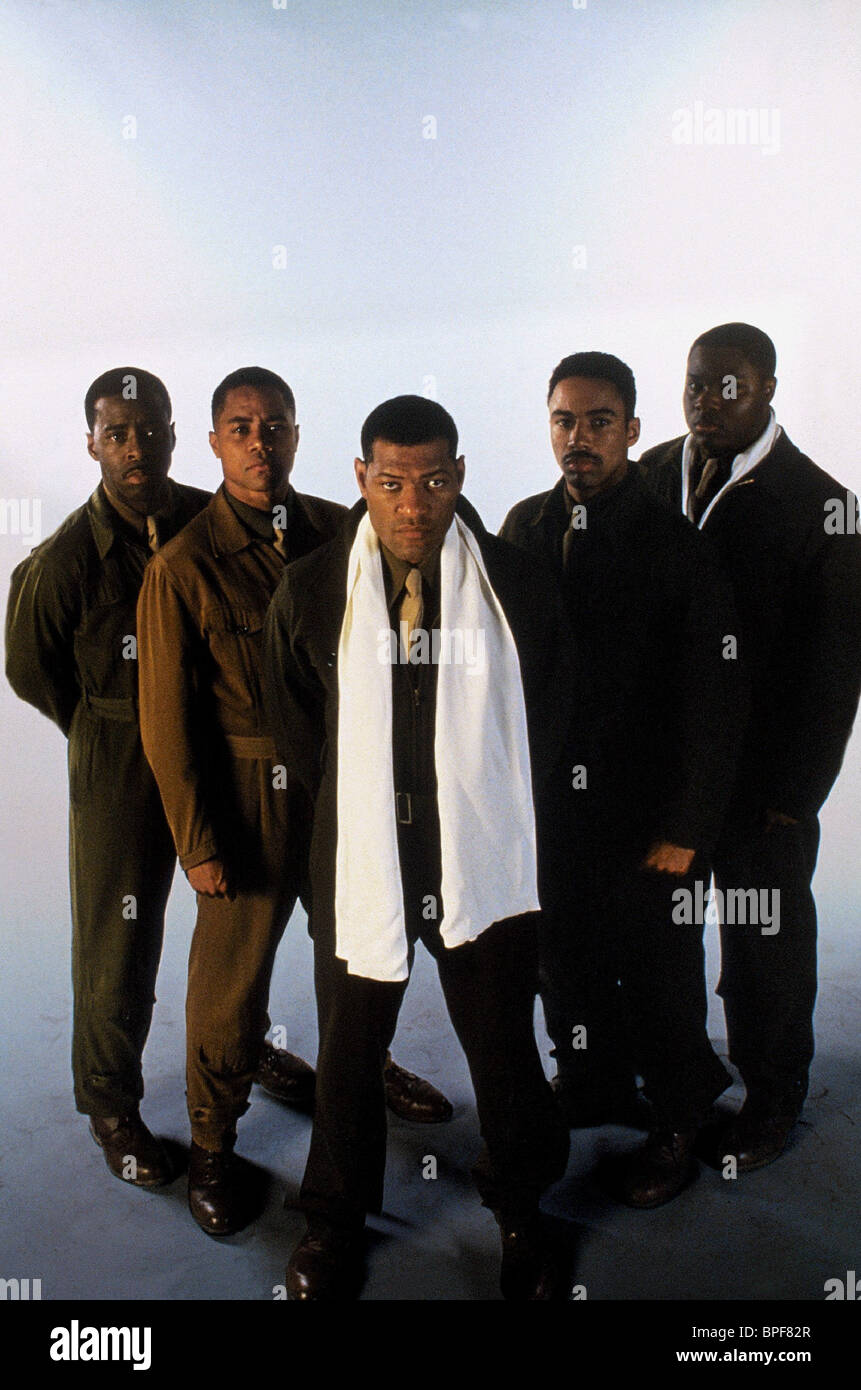 CUBA GOODING JNR, LAURENCE FISHBURNE, THE TUSKEGEE AIRMEN, 1995 - Stock Image