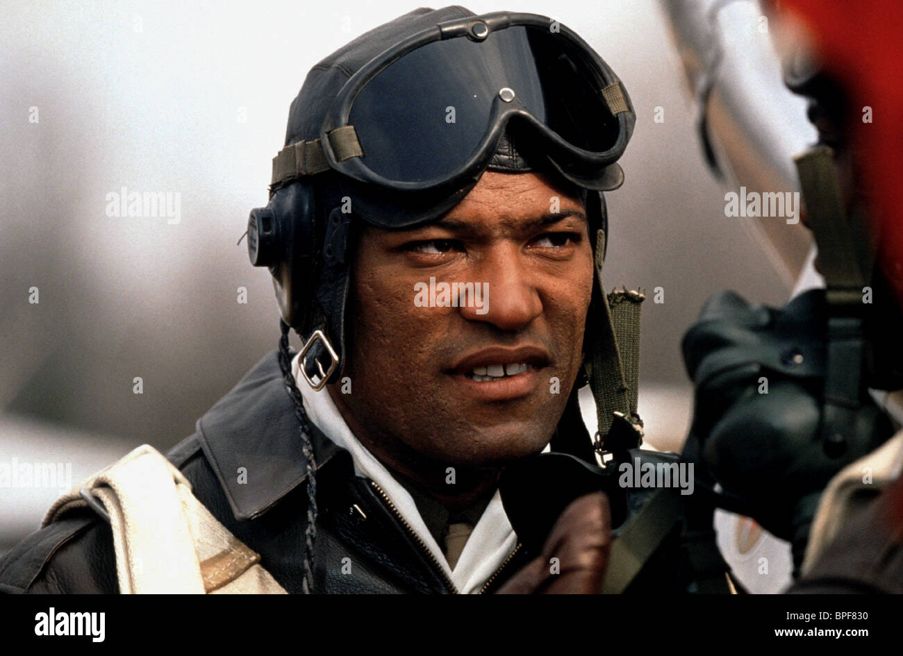LAURENCE FISHBURNE THE TUSKEGEE AIRMEN (1995) - Stock Image