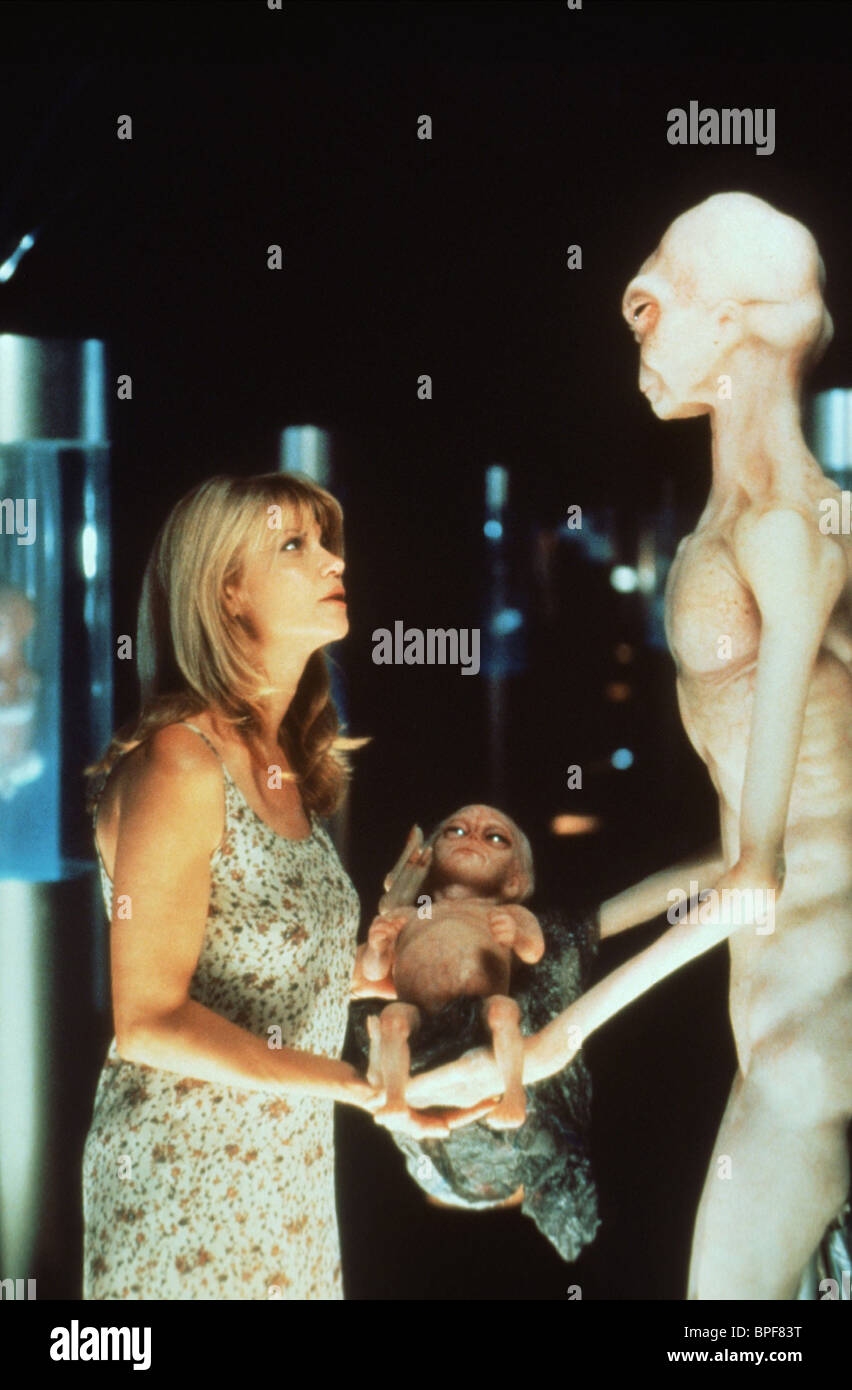 MARKIE POST VISITORS OF THE NIGHT (1995) - Stock Image