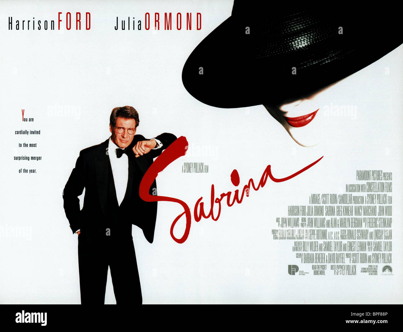 Harrison Ford Sabrina 1995 Stock Photo Alamy
