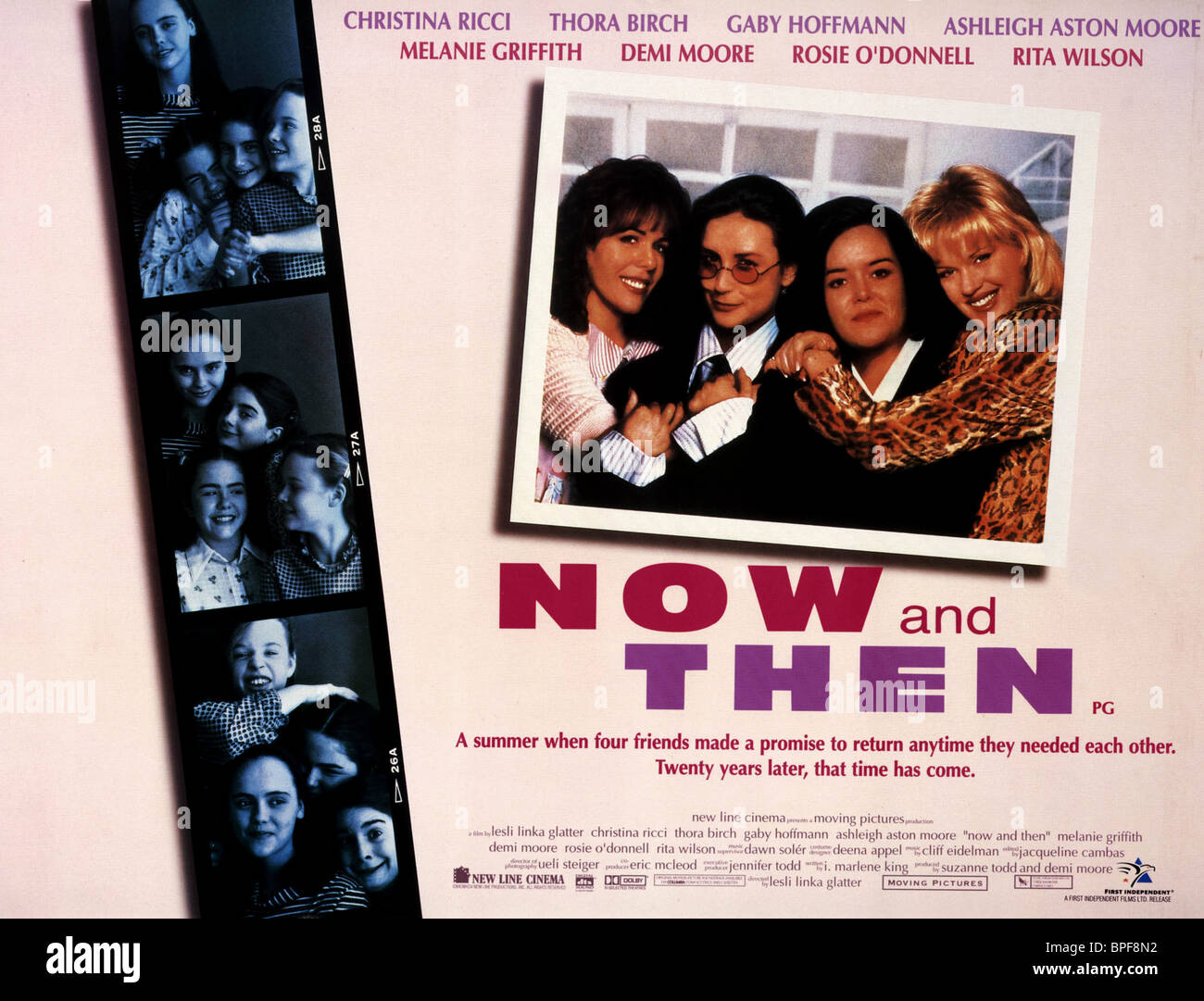 Now And Then Advertising Photograph >> Film Poster Now And Then 1995 Stock Photo 31068942 Alamy