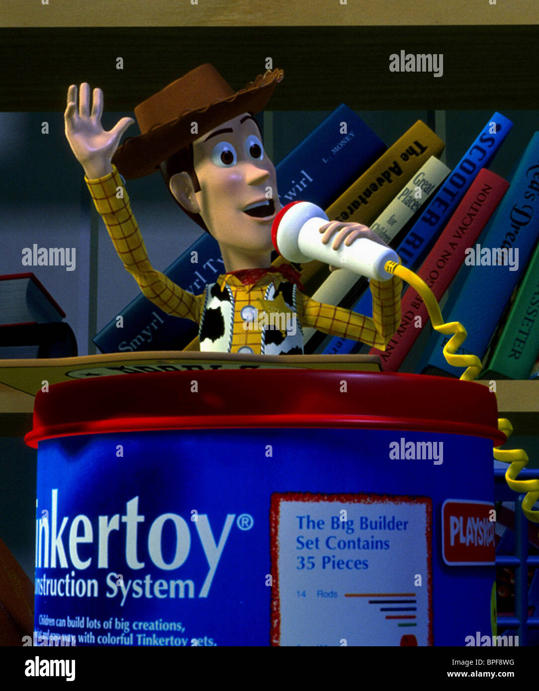 WOODY TOY STORY (1995) - Stock Image