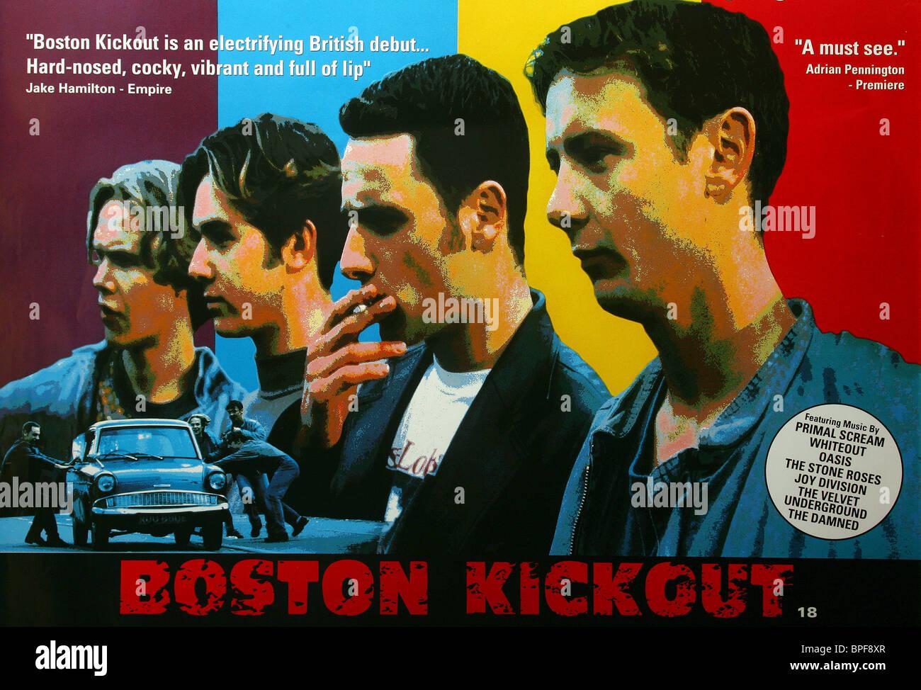 FILM POSTER BOSTON KICKOUT (1995) - Stock Image