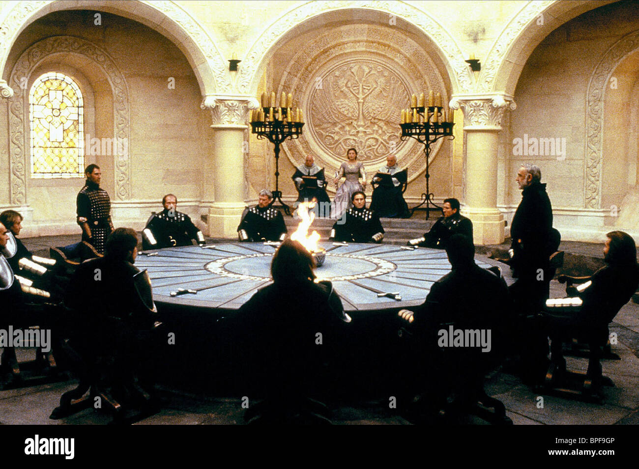 Ben Cross Sean Connery First Knight 1995 Stock Photo Alamy