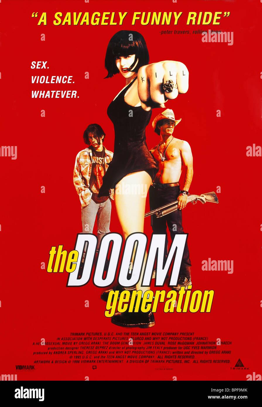 FILM POSTER THE DOOM GENERATION (1995) - Stock Image