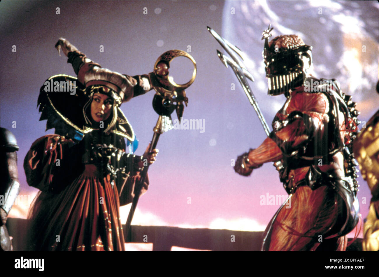 JULIA CORTEZ, MARK GINTHER, MIGHTY MORPHIN POWER RANGERS: THE MOVIE, 1995 Stock Photo