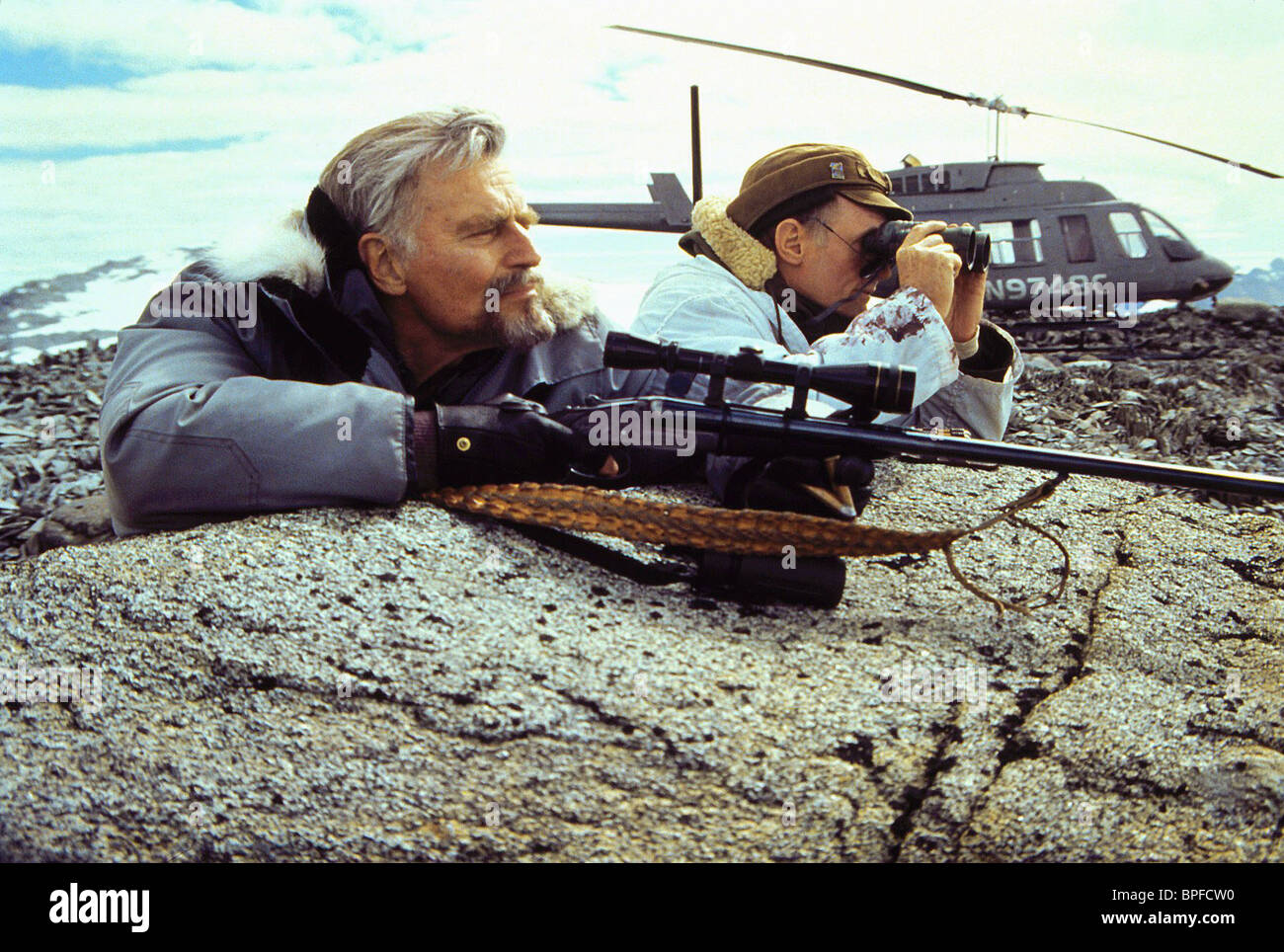 Charlton Heston Alaska 1996 Stock Photo 31072188 Alamy