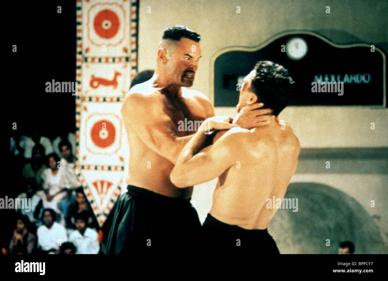FIGHT SCENE BLOODSPORT 3 (1996) - Stock Image