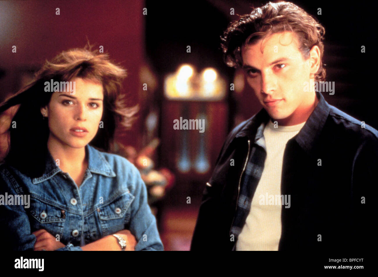 NEVE CAMPBELL & SKEET ULRICH SCREAM (1996 Stock Photo - Alamy