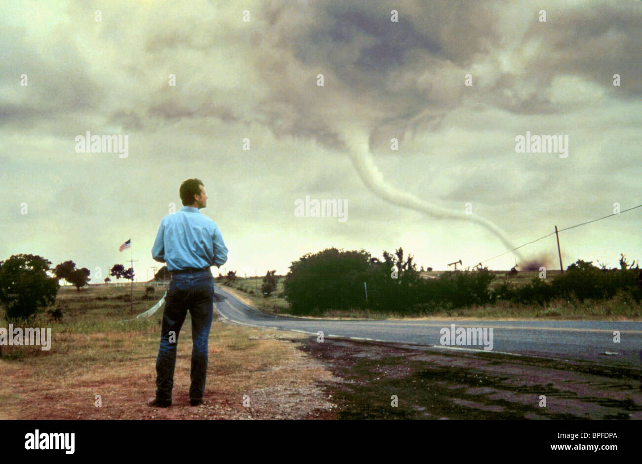 Bill Paxton Tornado Twister 1996 Stock Photo Alamy