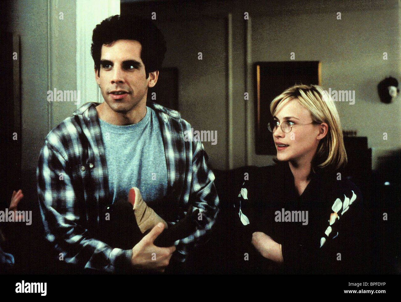 BEN STILLER PATRICIA ARQUETTE FLIRTING WITH DISASTER (1996) - Stock Image