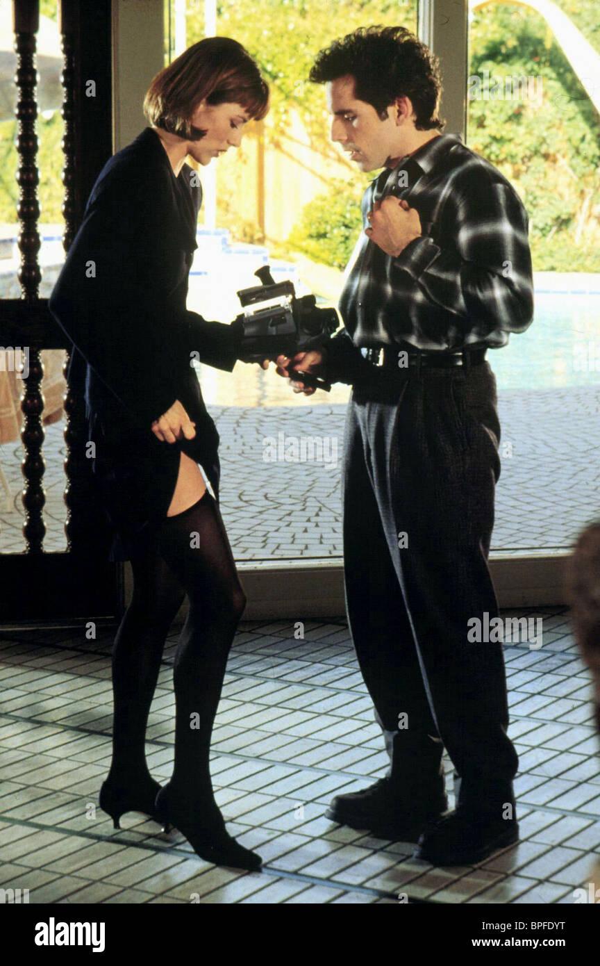 TEA LEONI & BEN STILLER FLIRTING WITH DISASTER (1996) - Stock Image