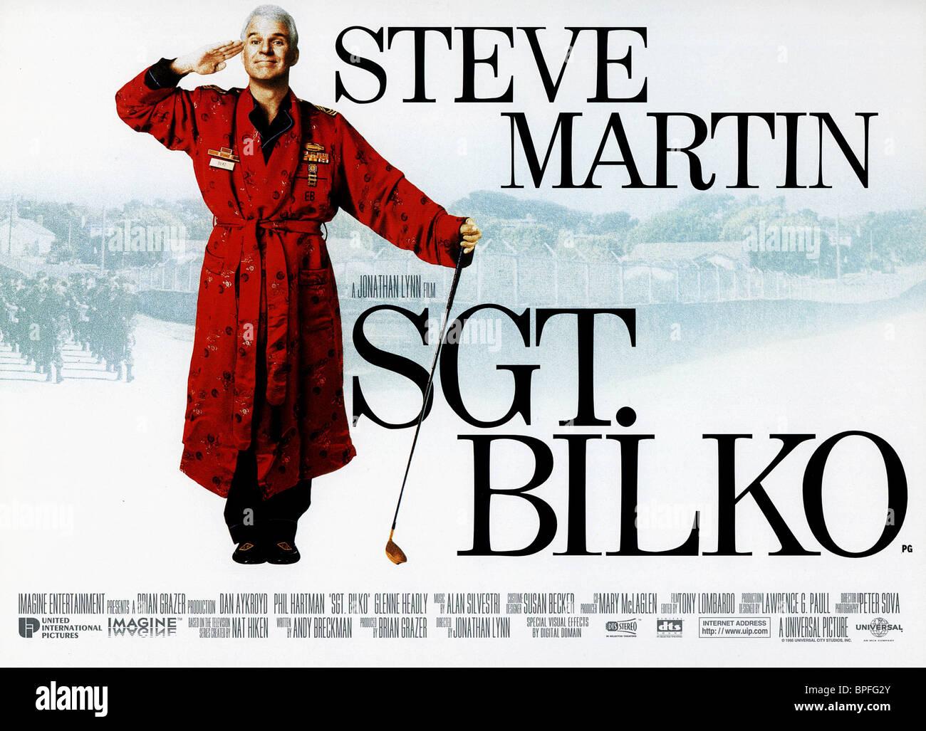STEVE MARTIN SGT. BILKO (1996) - Stock Image