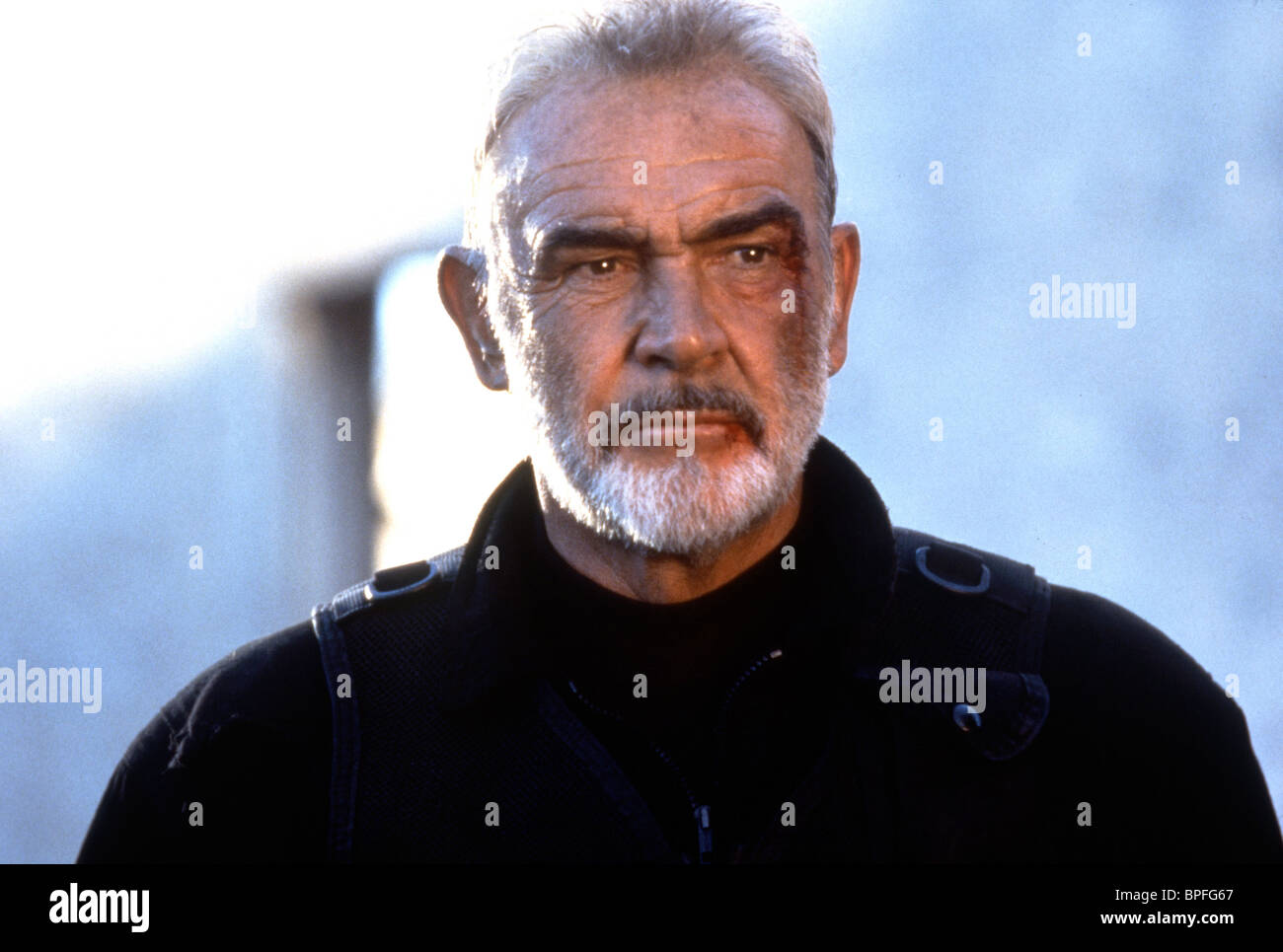 Sean Connery The Rock 1996 Stock Photo Alamy