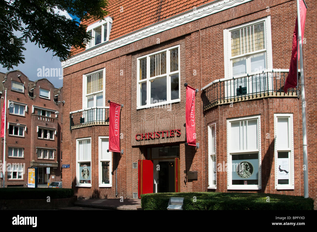 Christie's Christie s Auction House Amsterdam Netherlands - Stock Image
