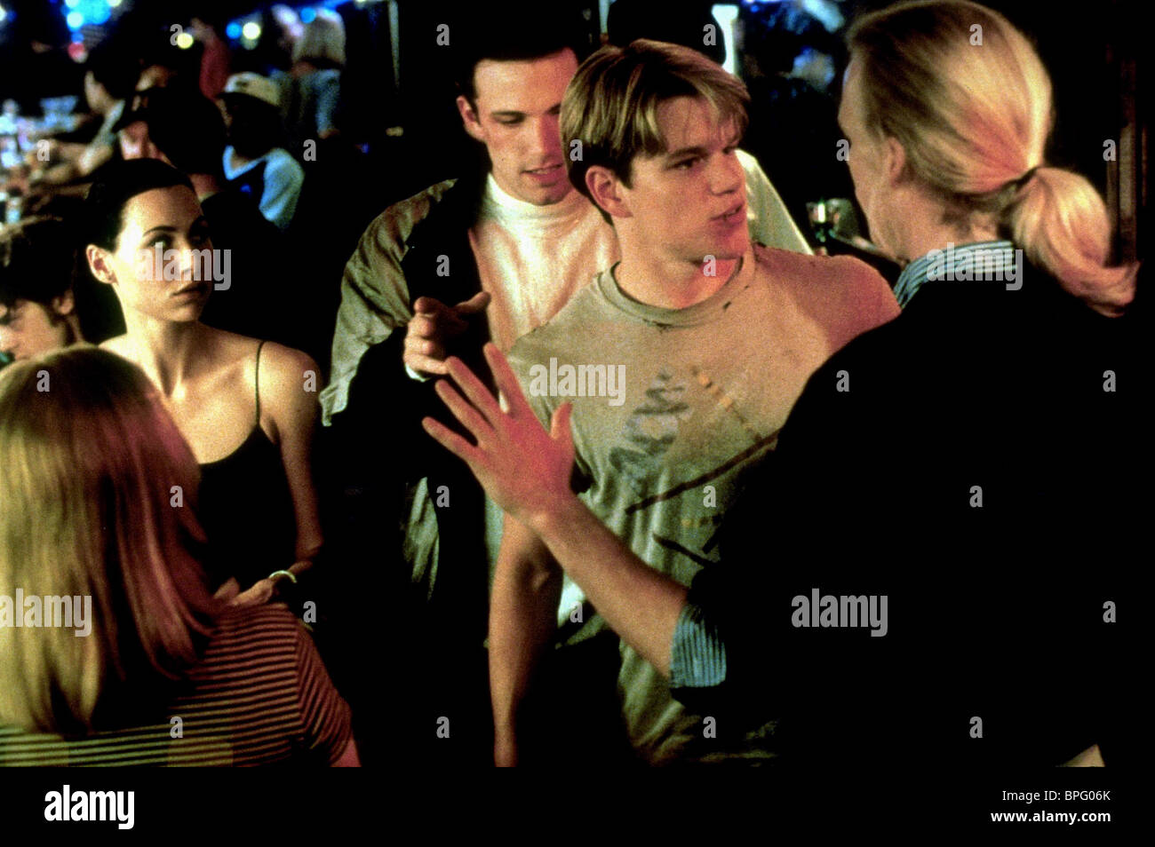 Minnie Driver Ben Affleck Matt Damon Good Will Hunting 1997 Stock Photo Alamy