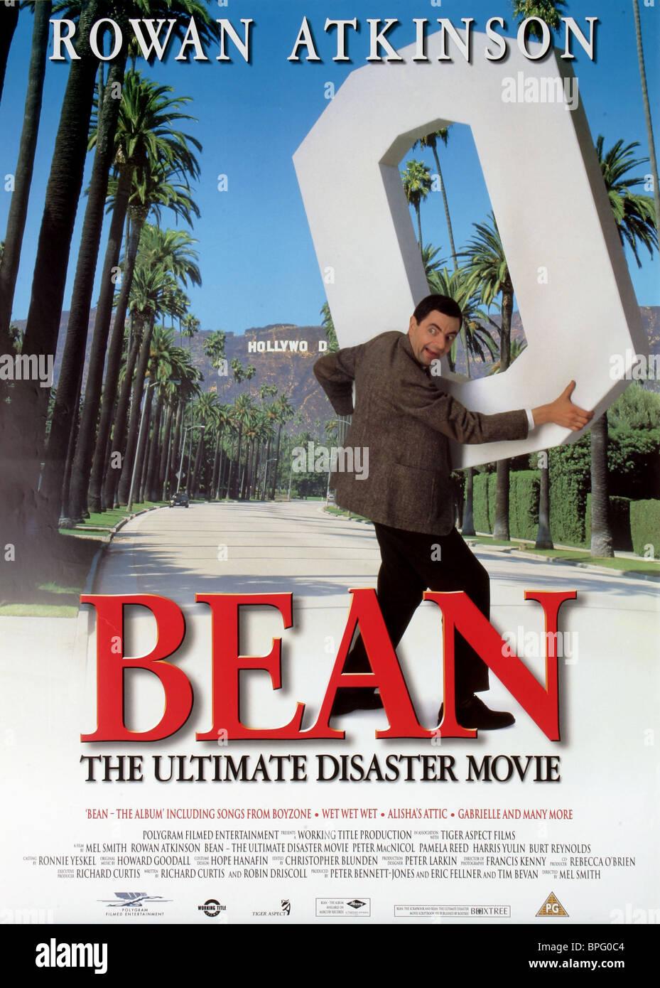 Rowan Atkinson Poster Bean 1997 Stock Photo Alamy