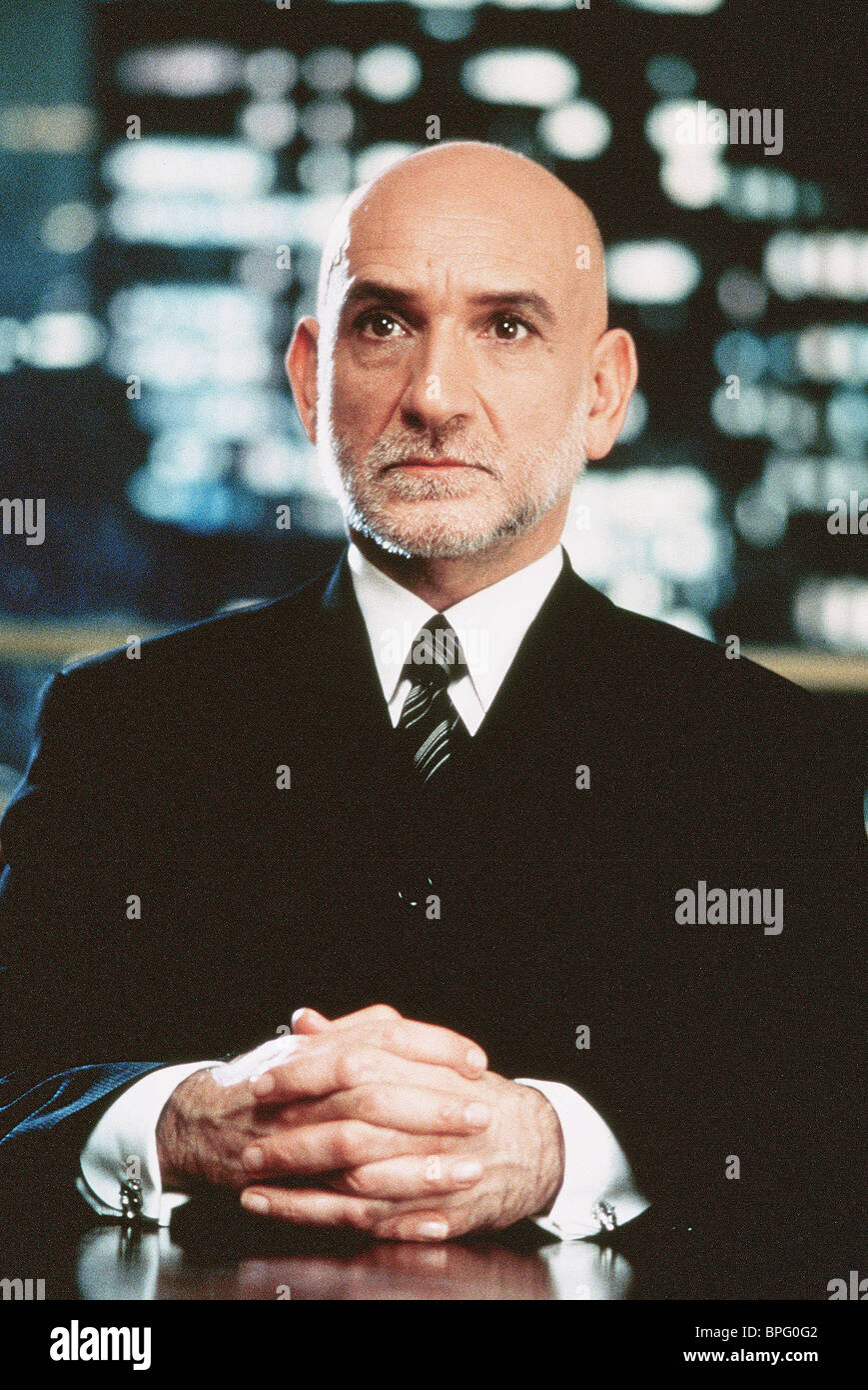 BEN KINGSLEY WEAPONS OF MASS DISTRACTION; (1997) - Stock Image