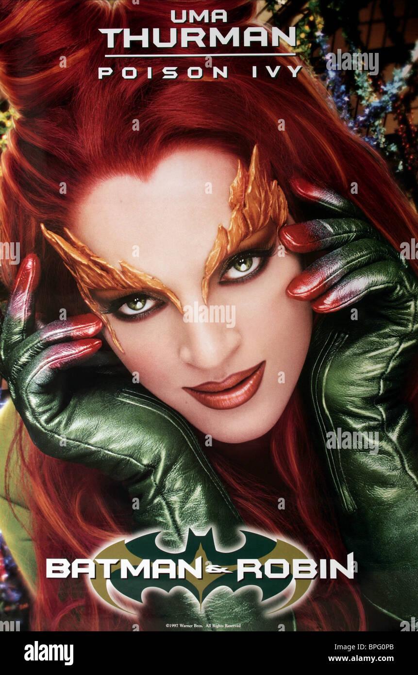 Uma Thurman Poison Ivy Poster Batman Amp Robin 1997 Stock