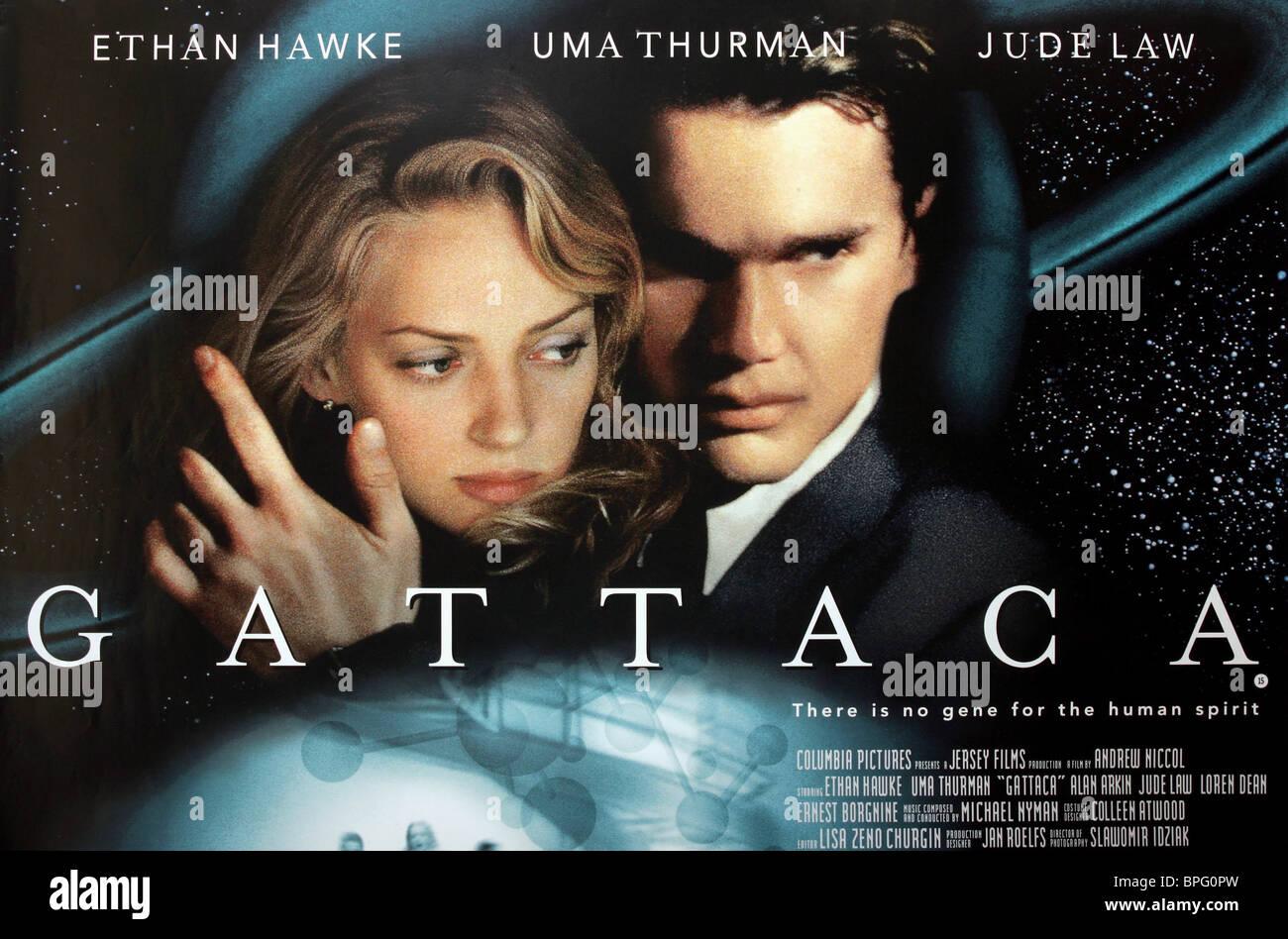 Movie Posters 1997: Gattaca Stock Photos & Gattaca Stock Images