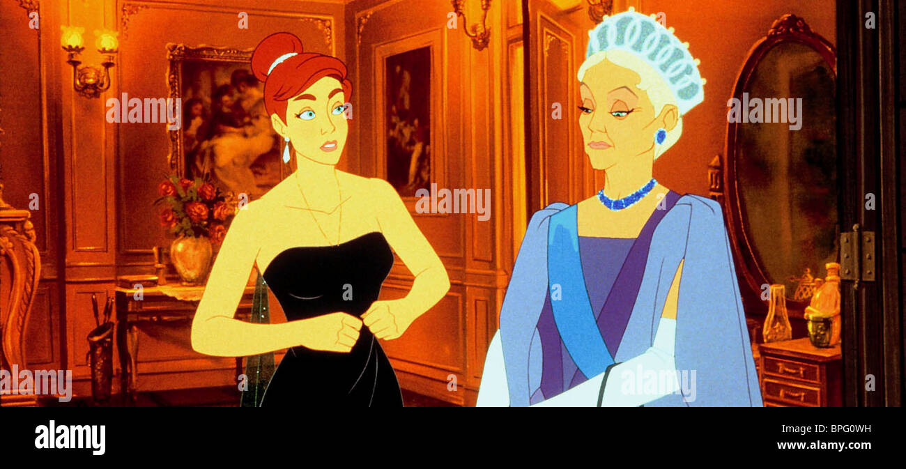 ANASTASIA & EMPRESS MARIE ANASTASIA (1997) - Stock Image