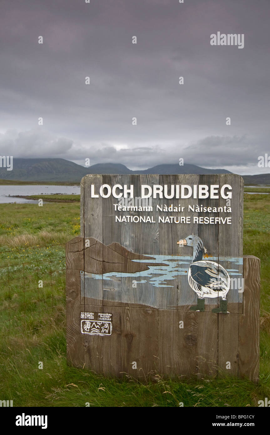 Loch Druidibeag National Nature Reserve South Uist, Outer Hebrides, Western Isles Scotland. SCO 6458 Stock Photo
