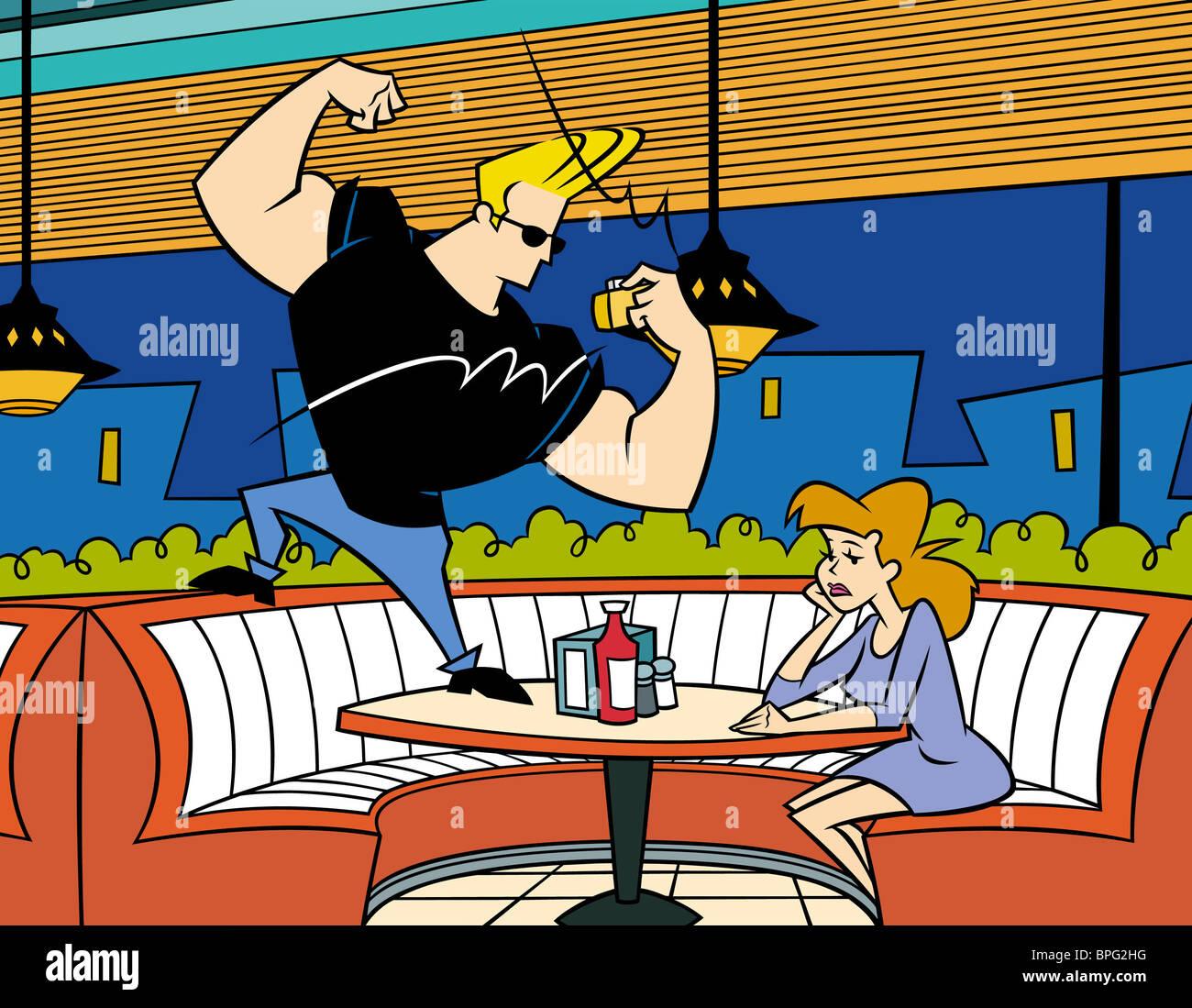 Johnny Bravo Stock Photos & Johnny Bravo Stock Images - Alamy
