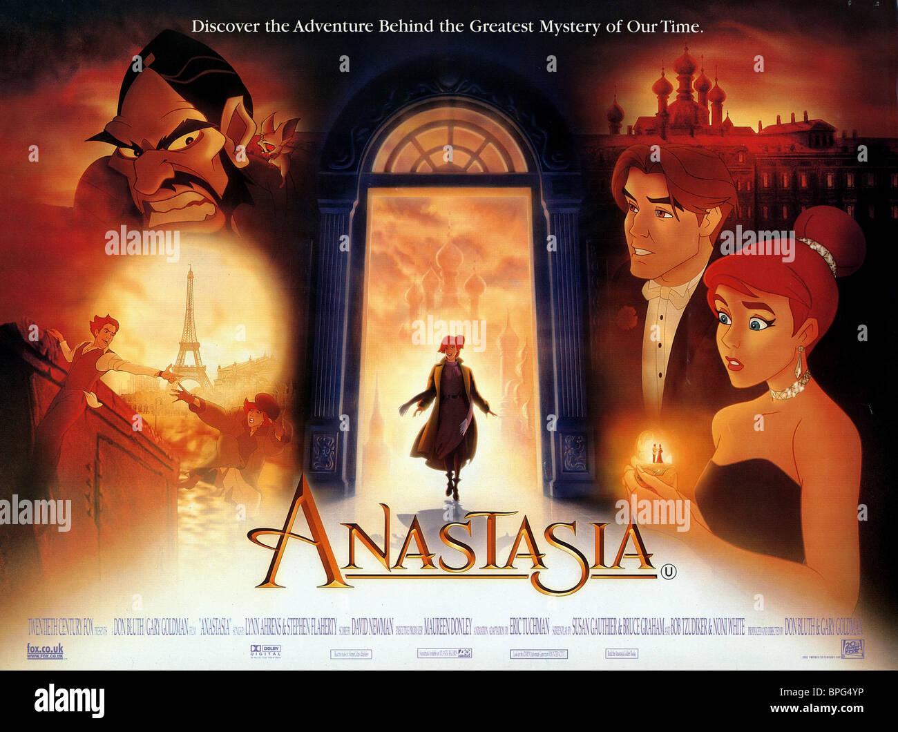 Movie Posters 1997: ANASTASIA & DEMITRI ANASTASIA (1997 Stock Photo: 31087946