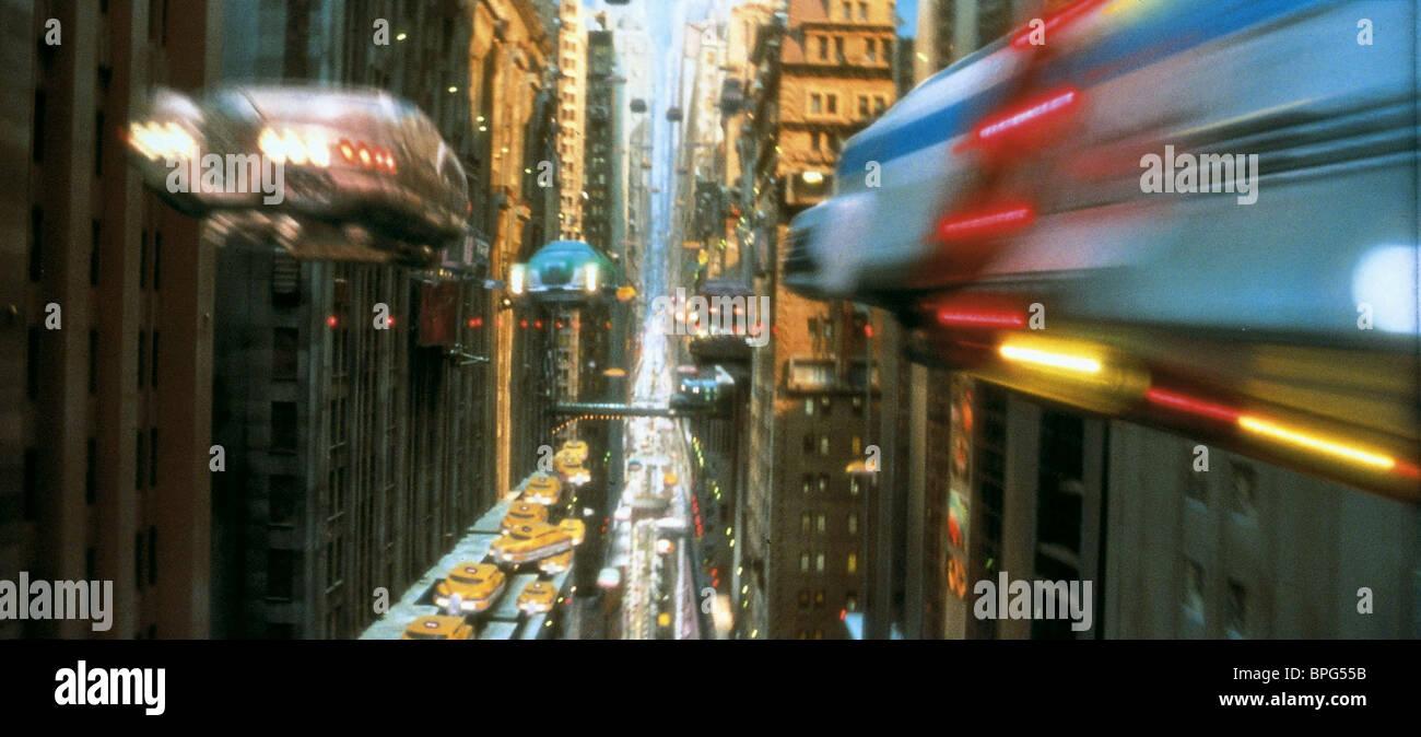 MANHATTAN TRAFFIC THE FIFTH ELEMENT (1997) - Stock Image