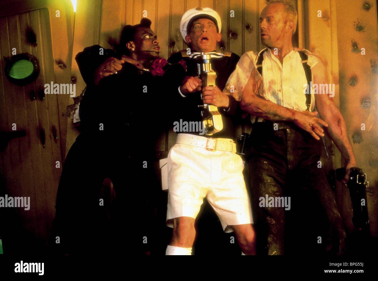 Chris Tucker Lee Evans Bruce Willis The Fifth Element 1997 Stock Photo Alamy