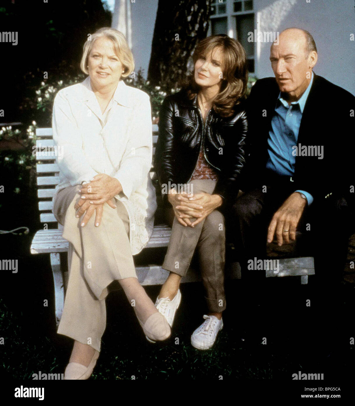 LOUISE FLETCHER, JACLYN SMITH, ED LAUTER, MARRIED TO A STRANGER, 1997 - Stock Image